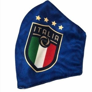 Italy Face Mask - Soccer Fans (New)